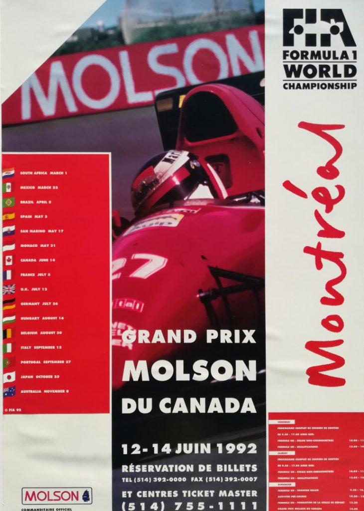 Canada Grand Prix 92