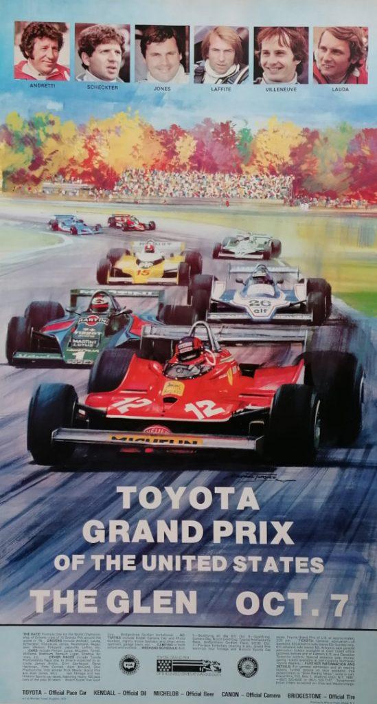 US Grand Prix Watkins Glen 7th October