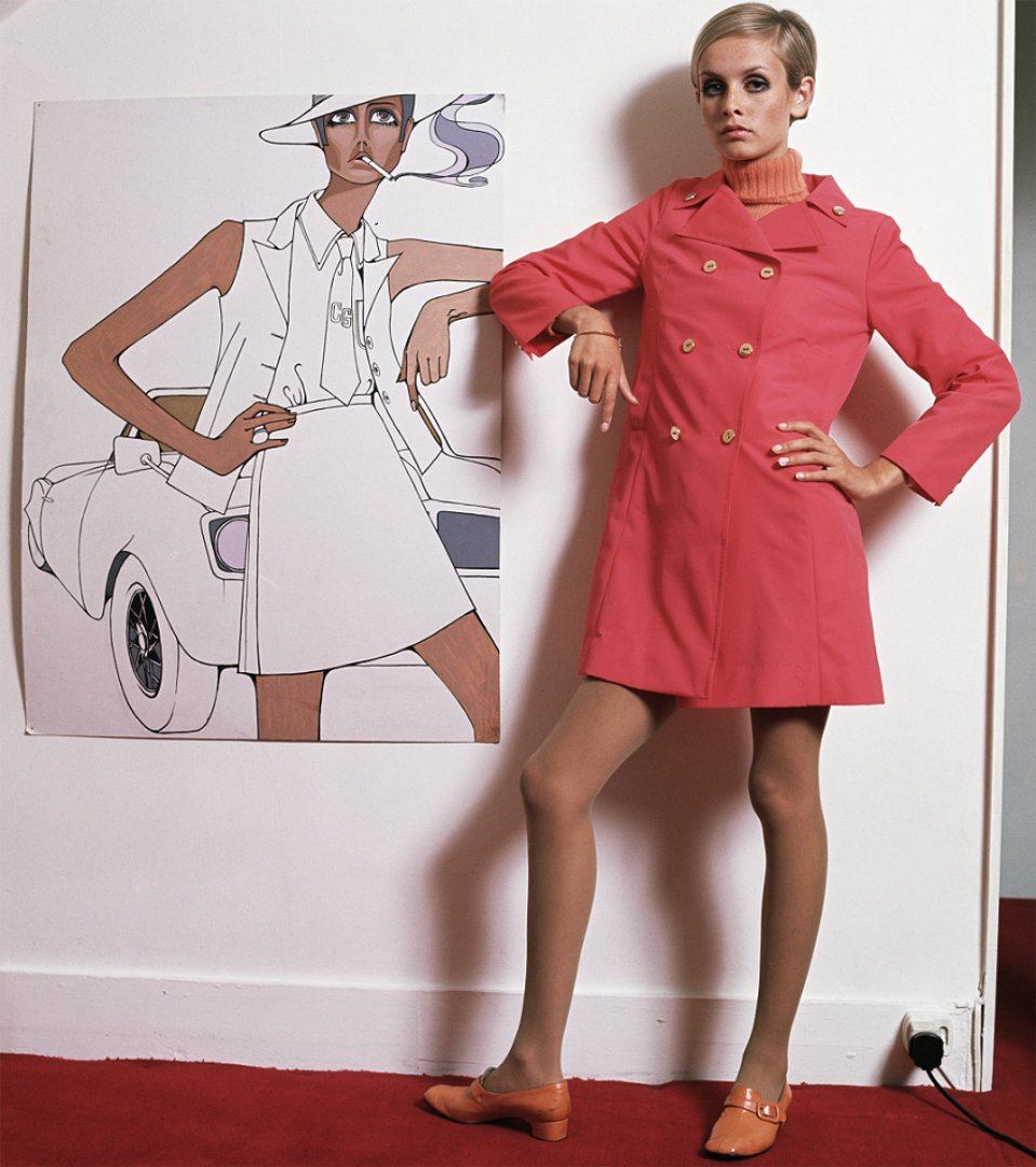Twiggy and painting